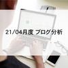【4月度アクセス分析】3ヶ月初心者ブロガーのリアル [無料版はてなブログ]