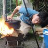 キャンプでダッチオーブンを使えなかったから家でスープ作る