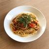アンチョビとミニトマトのスパゲッティ