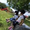 お友達と公園