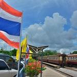 「トンブリ駅(バンコク ノーイ駅)」~フワランポーン駅に次ぐバンコク第2の駅とされているが・・・、正にローカル駅!!