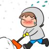 除雪、大変だろうな~~(;´・ω・)