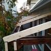 デッキ 屋根 DIY 7