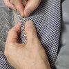 大阪府K.Yさんのサマージャケット(肩入れ〜衿の準備)