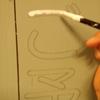 看板の塗装
