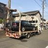 横浜市西区からレッカー車で車検切れの故障車を廃車の引き取りしました。