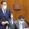 委員会で外務大臣政務官として初答弁に立つ
