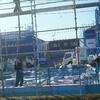 トヨタホームのお家が建つまで(こころ展示場17期編)NO5 バレンタイン据え付け リアルタイム実況報告