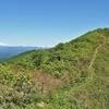 鳥海山を眺めながら歩く