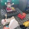 ダイヤブロックで臭豆腐屋さんを作ったよ!