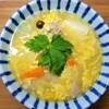 【リメイク料理】豆腐とチキンのトロトロ煮風でにゅうめんを作りました。