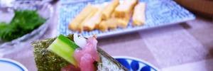 【年金二人暮らし】ちょっぴりゼイタク?お昼に「シンプル手巻き寿司」を作りました。