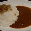 太陽咖喱で月桃カレーにアジアンタコスをトッピング