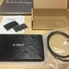 MacBook Pro用モバイル外付けHDD導入
