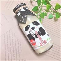 カルディから危険注意報!!パンダマークの杏仁豆腐のお酒はぐびぐび飲めちゃう!手を腰に当てて一気飲みするアレではありません。