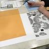 「型紙作りから染色まで~型染めの技を学ぶ~」を行いました①
