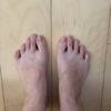 足と靴に悩む