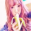 三上悠亜 がバナナを頬張る…