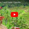 エクスペディアのトラベルガイドビデオで見るバリ島