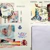 バルセロナの美しいポストカード