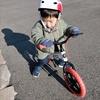 週末のパパと息子のバイク特訓