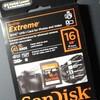 SDメモリ16GB(SanDisk SDHC UHS-I 16GB)[2枚目]
