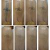 黒タトゥーの腕症例。治療終了間近までの経過8写真。