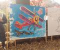 「井の頭100祭フィナーレ」ライブペイント
