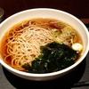 弁当買ったら蕎麦無料(東京駅一番街「越後そば」)