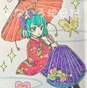祝☆塗り絵ブログ二周年!&セイカノート『スター☆トゥインクルプリキュア C柄』から♪