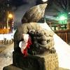 夜の北海道神宮頓宮に行ってみたよ。