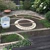 汚庭改造 6.三つ目の花壇を造っています