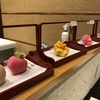 和菓子の実演カフェ|コレド室町鶴屋吉信は職人技を見て楽しむところ