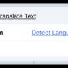 Translate Text