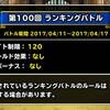 level.290【闘技場考察】リーグバトル:ウェイト120