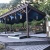 【ひとり旅】星野リゾート青森屋②広い庭でカエルと渋沢栄一に出会った