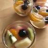 フルーツ缶の汁を使って簡単に 寒天ゼリー