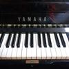 ピアノの音色が雑音にきこえる。