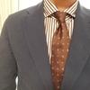 寒くなってきたのでネクタイを着ける楽しみが戻ってきましたね