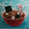 川崎タカオさんの個展、ついに最終日になってしまいました!!!