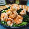 【レシピ】海老とブロッコリーのアヒージョ