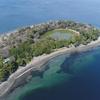 伊豆の七不思議!? 神池と呼ばれる不思議な池をドローンで空撮してきました