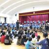 イチョウの木コンサート(玉里善き牧者幼稚園)
