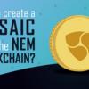 NEMブロックチェーンのモザイク作成方法