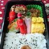 【夫弁当】12月第5週のおかずは、ホタテの甘辛煮からカボチャとかいわれのサラダまで。