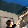 和室をおしゃれなバー風に大改造計画!パート14〜やっぱり天井が気に入らないから塗りつぶすことにした!〜