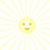 【CSS】conic-gradientで放射状の光線を放つ太陽を作る