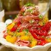 【レシピ】焼きパプリカと生ハムの彩りマリネ