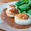 玉ねぎ消費♪玉ねぎの肉詰め~オニオンジンジャーソース~のレシピ・作り方