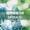 6月スタート!心に雨は降らせない!【2020/6/1~相場分析】